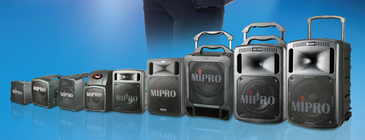 Mipro Portable Wireless Public Address Systems
