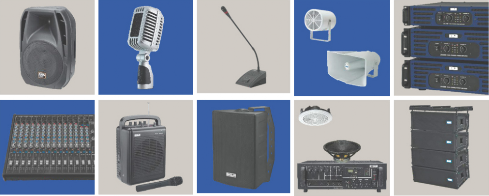 Public Address System Products